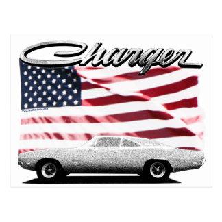 Carte postale de chargeur de Dodge