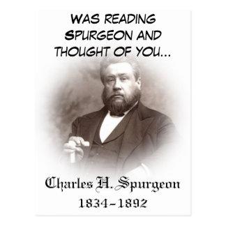 Carte postale de Charles Haddon Spurgeon