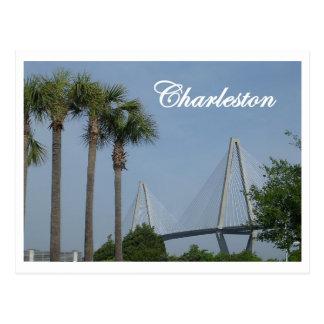 Carte postale de Charleston, la Caroline du Sud