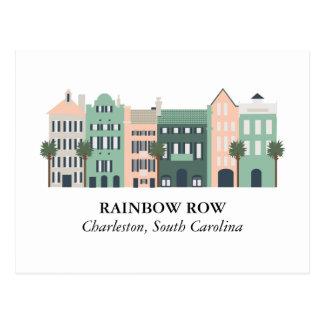 Carte postale de Charleston la Caroline du Sud de