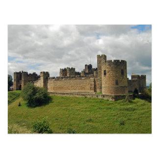 Carte postale de château d'Alnwick