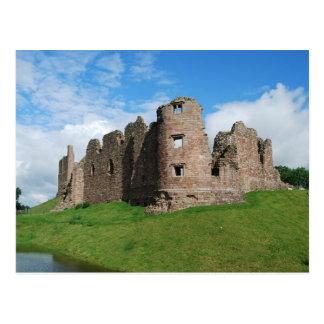 Carte postale de château de Brough