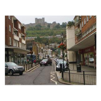 Carte postale de château de Douvres