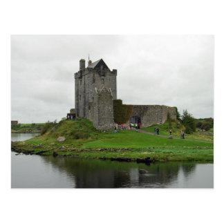 Carte postale de château de Dunguaire