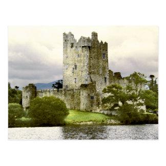 Carte postale de château de Ross