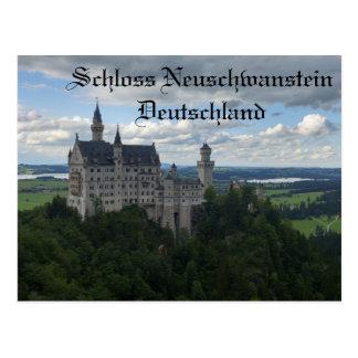 Carte postale de château de Schloss Neuschwanstein