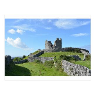 Carte postale de château d'Inis Oírr