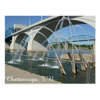 Carte postale de Chattanooga