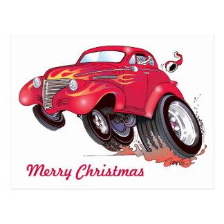 Carte postale de Chevy de Père Noël 39