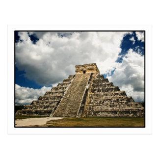 Carte postale de Chichén Itzá
