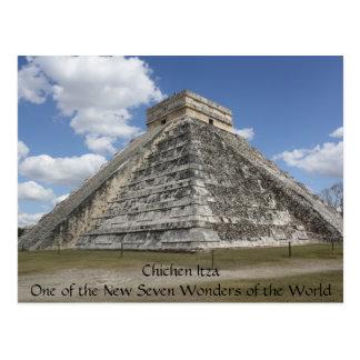 Carte postale de Chichen Itza Mexique