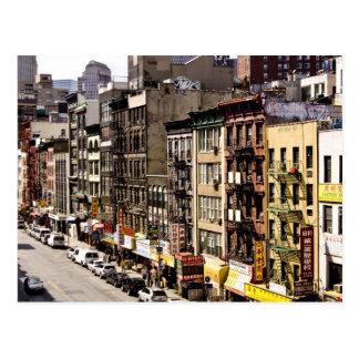 carte postale de Chinatown