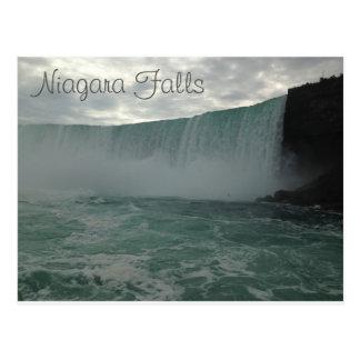 Carte postale de chutes du Niagara