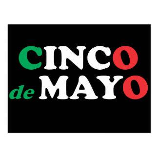 Carte postale de Cinco De Mayo