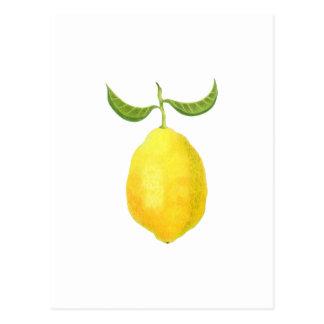 Carte postale de citron