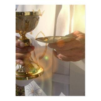 Carte postale de communion