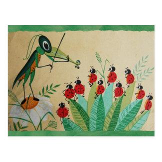 "Carte postale ""de concert en bois"" du cru 1969 de"