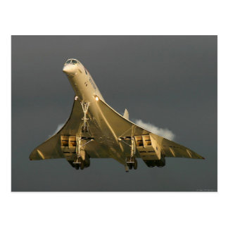 Carte postale de Concorde