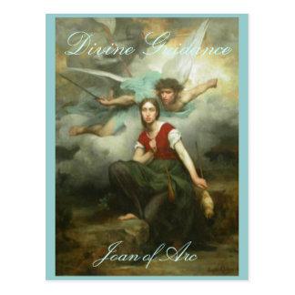 Carte postale de conseils divins