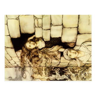 Carte postale de conte de fées