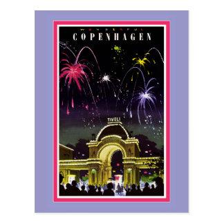 Carte postale de Copenhague