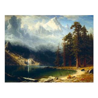 Carte postale de Corcoran de bâti de Bierstadt