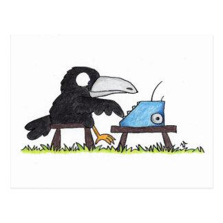 Carte postale de CORNEILLE de MACHINE À ÉCRIRE par