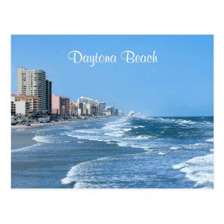 Carte postale de côte de Daytona Beach