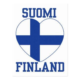 Carte postale de coutume de SUOMI FINLANDE