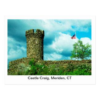 Carte postale de Craig de château