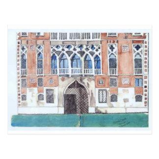 Carte postale de croquis de Venise