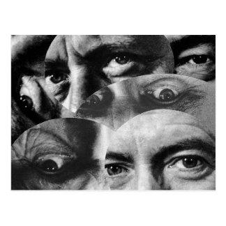 Carte postale de cru de Dadaism