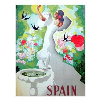 Carte postale de cru de l Espagne