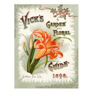 Carte postale de cru de paquet de graine