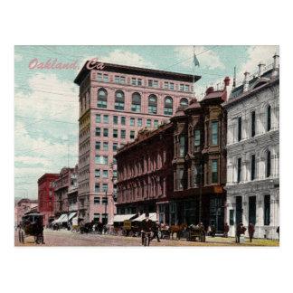 Carte postale de cru de rue de Broadway