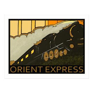 Carte postale de cru d'express d'orient