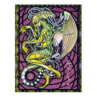 Carte postale de Cthulhu de crainte