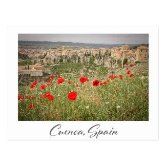 Carte postale de Cuenca Espagne