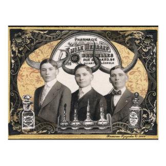 Carte postale de curiosités d'apothicaire