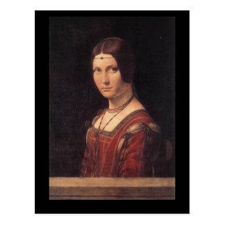 carte postale de da Vinci