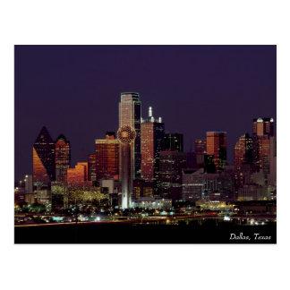 Carte postale de Dallas, le Texas