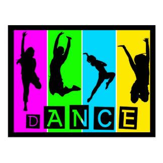 Carte postale de danse