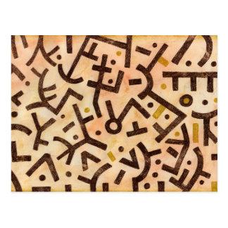 Carte postale de danse de sable