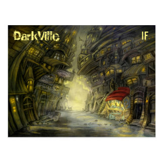 Carte postale de DarkVille par Mike Winterbauer
