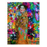 Carte postale de ~ de Gustav Klimt