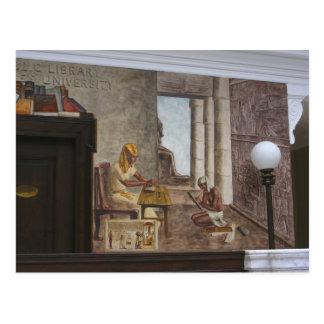 Carte postale de ~ des peintures murales 2 de WPA