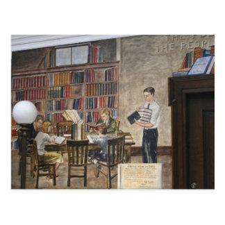 Carte postale de ~ des peintures murales 8 de WPA
