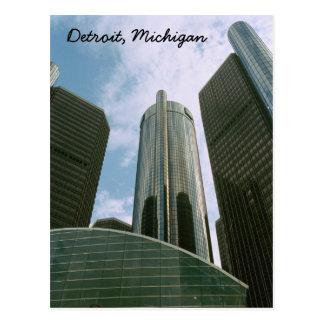 Carte postale de Detroit MI