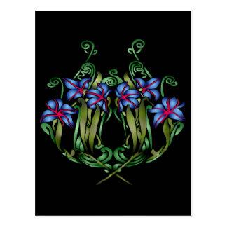 Carte postale de Diana de bouquet