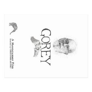 Carte postale de documentaire d'Edouard Gorey